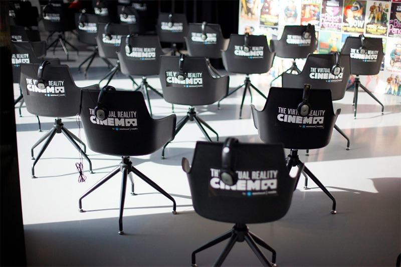 암스테르담에 개관한 세계 최초의 VR 영화관, VR Cinema