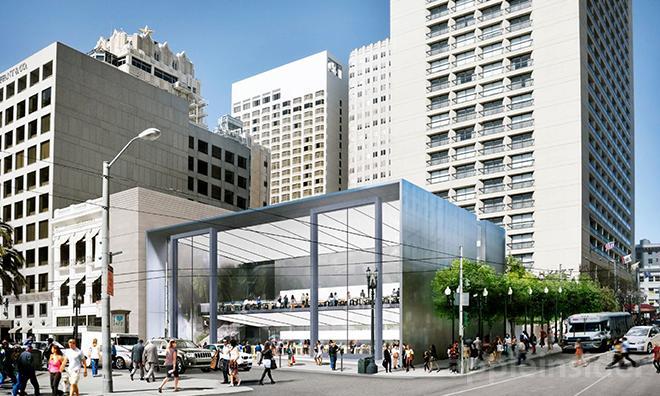 애플 샌프란시스코 유니온 스퀘어에 새로운 스토어 개장
