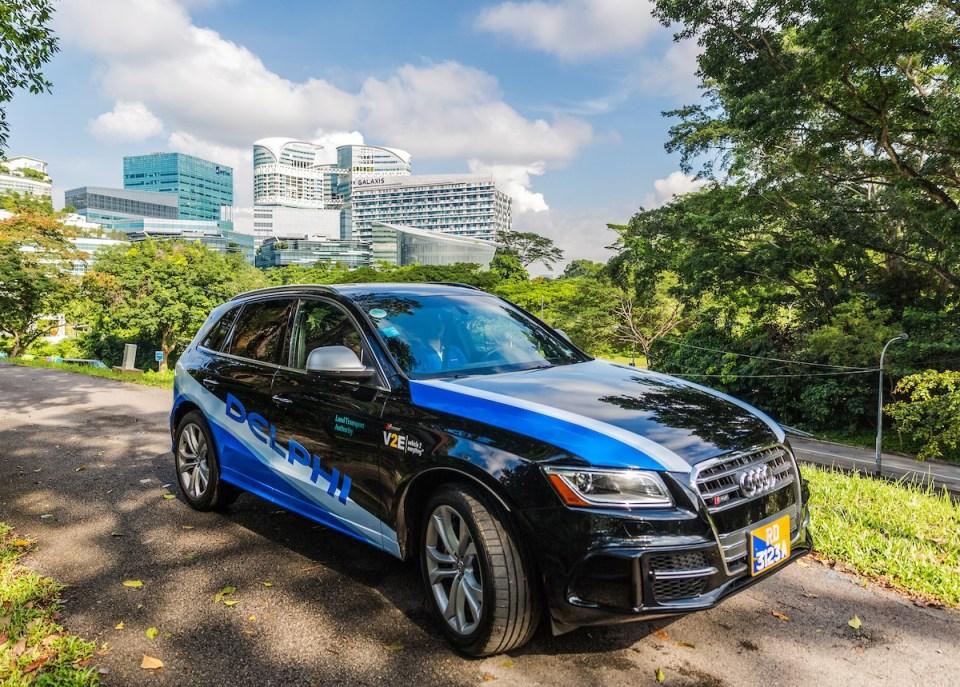 델파이, 싱가포르에서 자율주행 택시 시험운영 예정