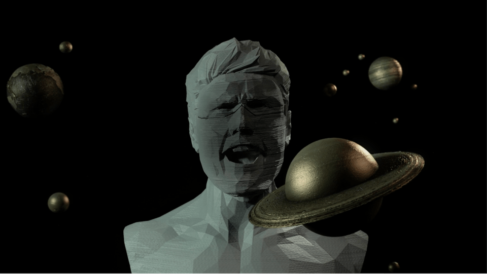 3D 프린터와 뮤직비디오의 만남