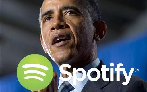 스포티파이, 오바마 대통령에게 일자리 제안
