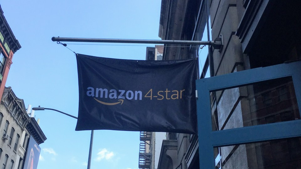 [방문기] 뉴욕 Amazon 4 Star 매장