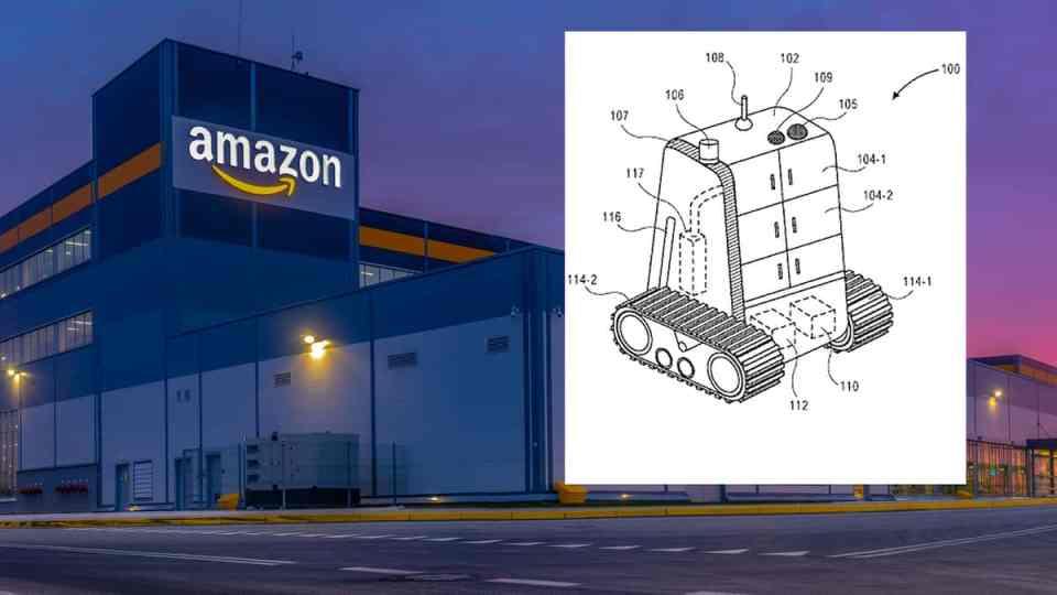 아마존, 새로운 타입의 자율주행 배송 로봇 공개