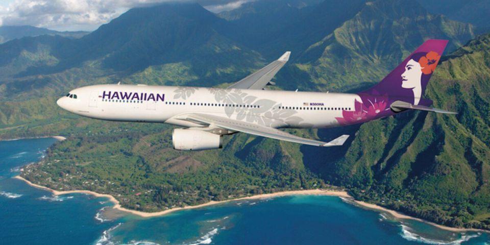 하와이안 항공, 코로나19 테스트 후 하와이로 출발하는 항공권 판매 시작