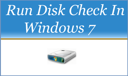Run Disk Cleanup In Windows 7