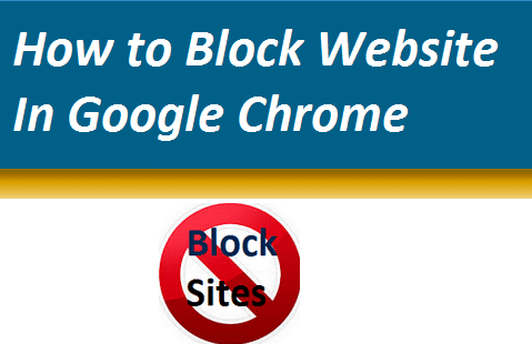 Block Website In Chrome