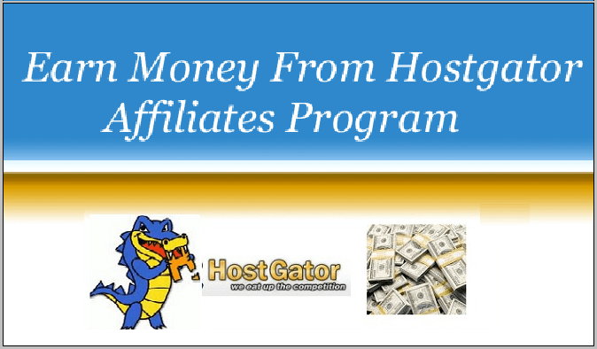 Make money from HostGator Affiliates Program.