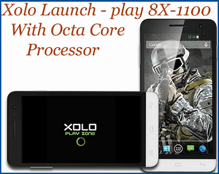 XOLO Launched Play 8x-1100