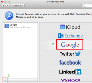 Setup Gmail Account In Mac OS Mail