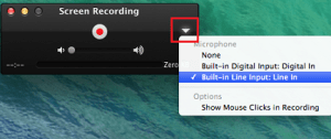 Screen Record Using Quick Time Player