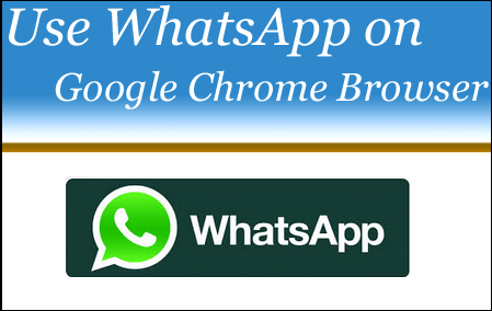 Use Whatsapp on Web