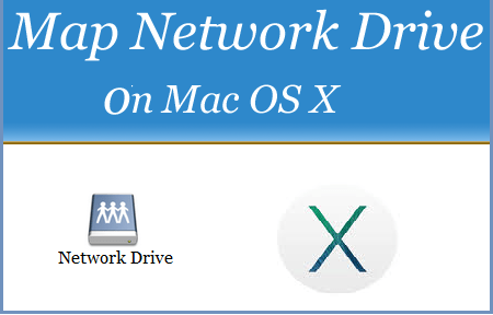 Map Network Drive on Mac OS X