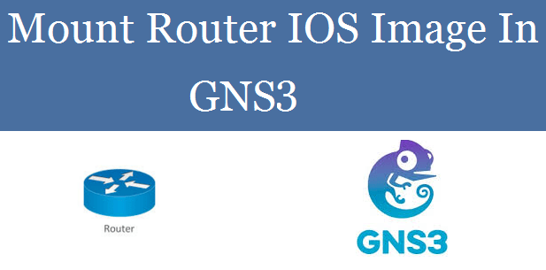 Mount Router IOS Image In GNS3
