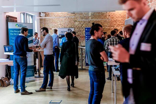 Expo beim Climate-KIC Demo Day 2017