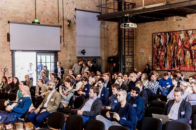 Publikum beim Climate-KIC Demo Day 2017