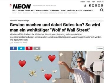 ScreenShot Neon-Magazin