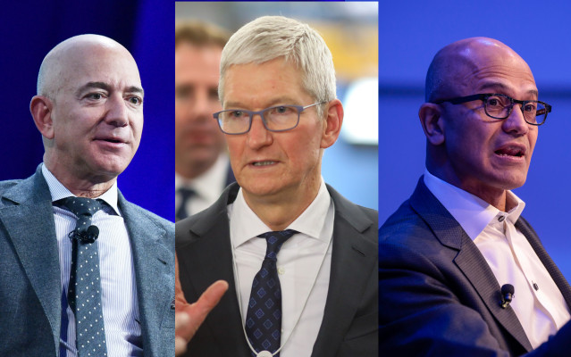 Amazon, Apple and Microsoft CEOs detail their companies' efforts to combat coronavirus pandemic