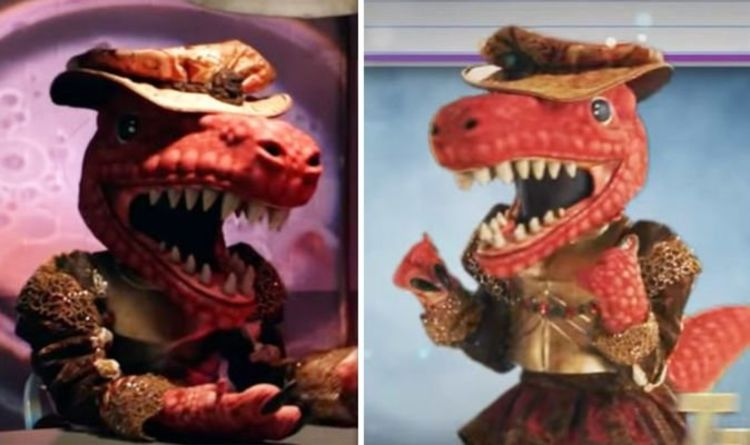 The Masked Singer on FOX: T-Rex 'exposed' as former child star