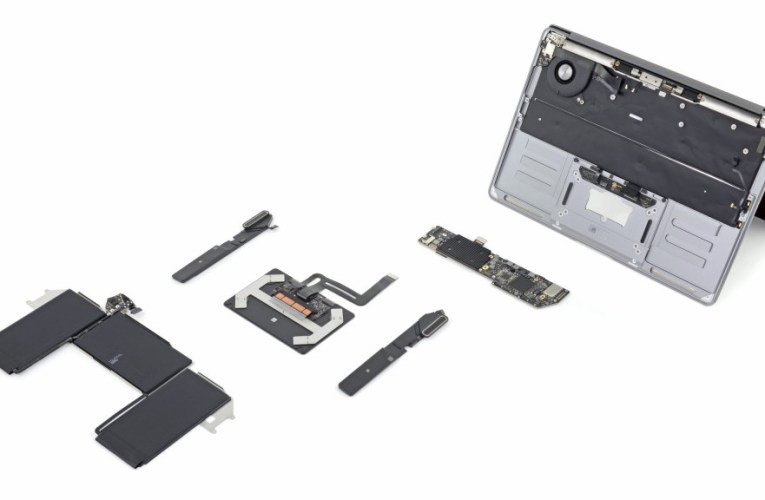 iFixit MacBook Air teardown finds more repairable than predecessor, 0.5mm thicker with Magic Keyboard