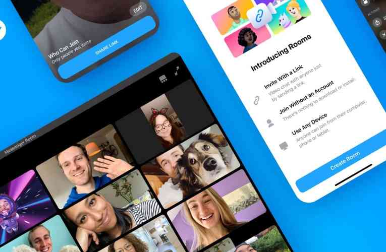 Facebook introduces a group video call service with Messenger Rooms