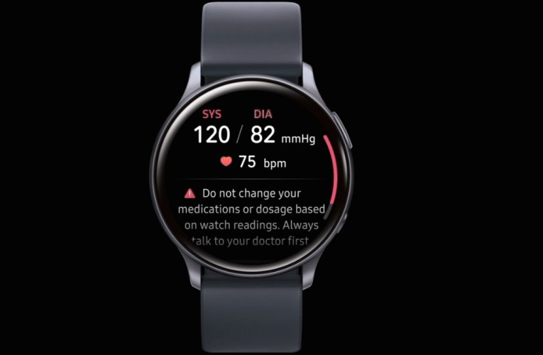 Samsung's new app for Galaxy Watch Active 2 enables blood pressure monitoring