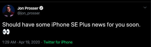 The iPhone SE Plus 2020 comes with a larger screen later this year