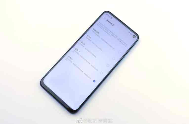 iQOO Z1, First Dimensity 1000+ smartphone leaked in photos