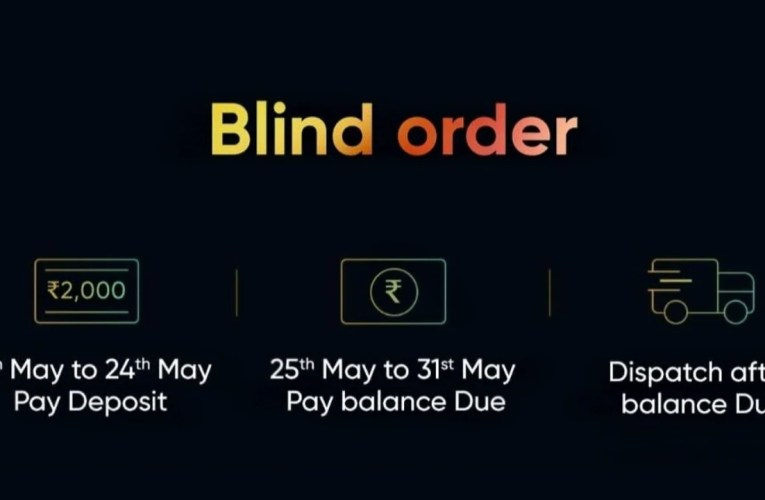Realme TV blind orders go live before launch