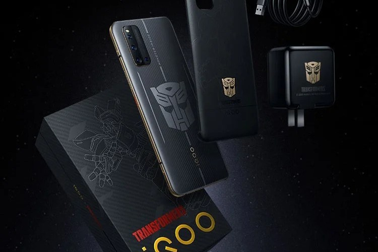 The iQOO 3 5G Transformers Limited Edition will be released on June 1 for 3,998 yuan ($ 561).