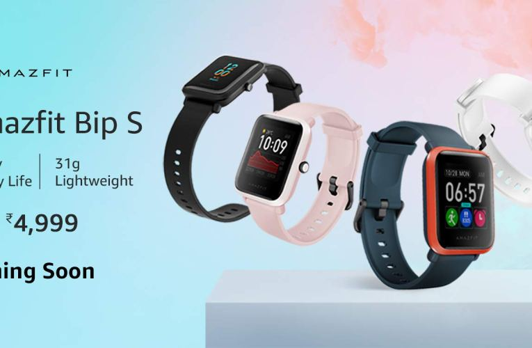 The price for Amazfit Bip S in India was announced before the launch on June 3