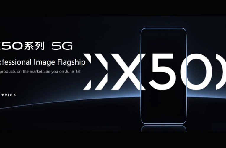 Vivo X50 5G will be launched on June 1st