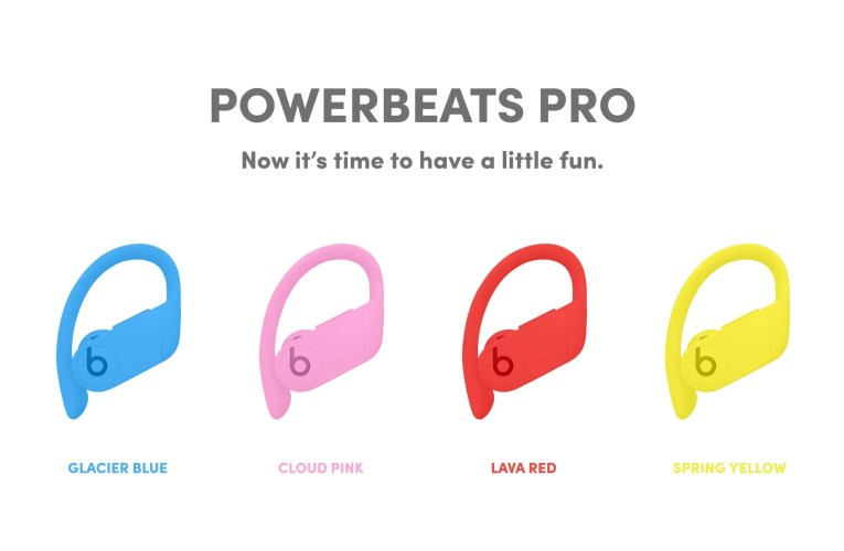 You may soon have more color options in your Powerbeats Pro