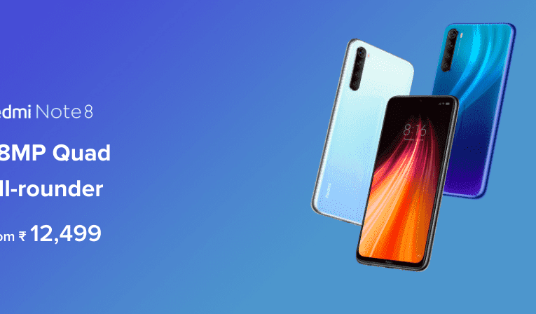 Redmi Note 8 is now 25 percent more expensive in India