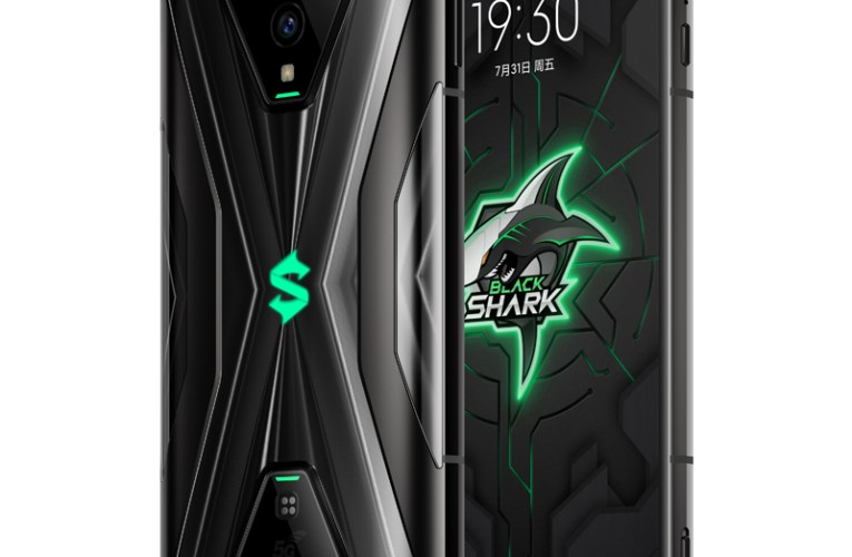 The Black Shark 3S gaming phone has a 120 Hz AMOLED display and Snapdragon 865