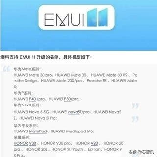 These are the first smartphones from Huawei and Honor to receive EMUI 11