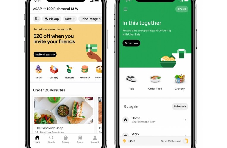 Uber starts a grocery delivery service in Canada and Latin America and also comes to the United States