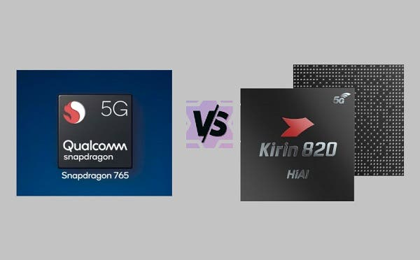 Kirin 820 Vs. Snapdragon 765G – Comparison of processing speed for popular apps