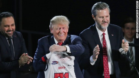 As Trump seeks reelection, a chapter closes on the religious right's Falwell era