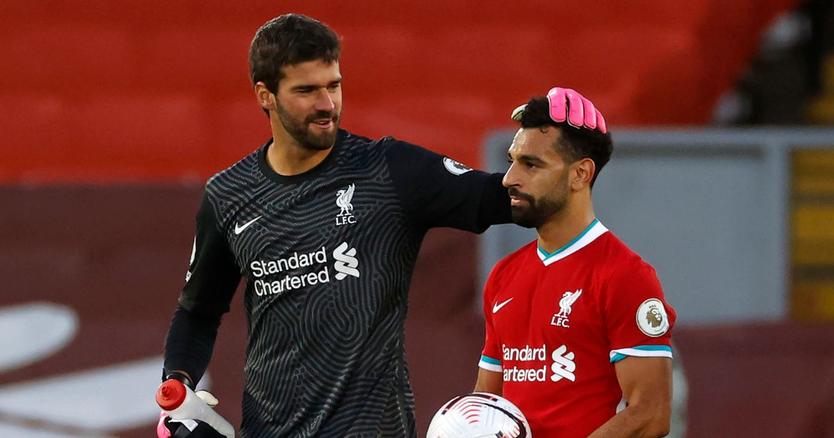 Alisson Becker concerns addressed as Liverpool get closer look at potential Mohamed Salah replacement
