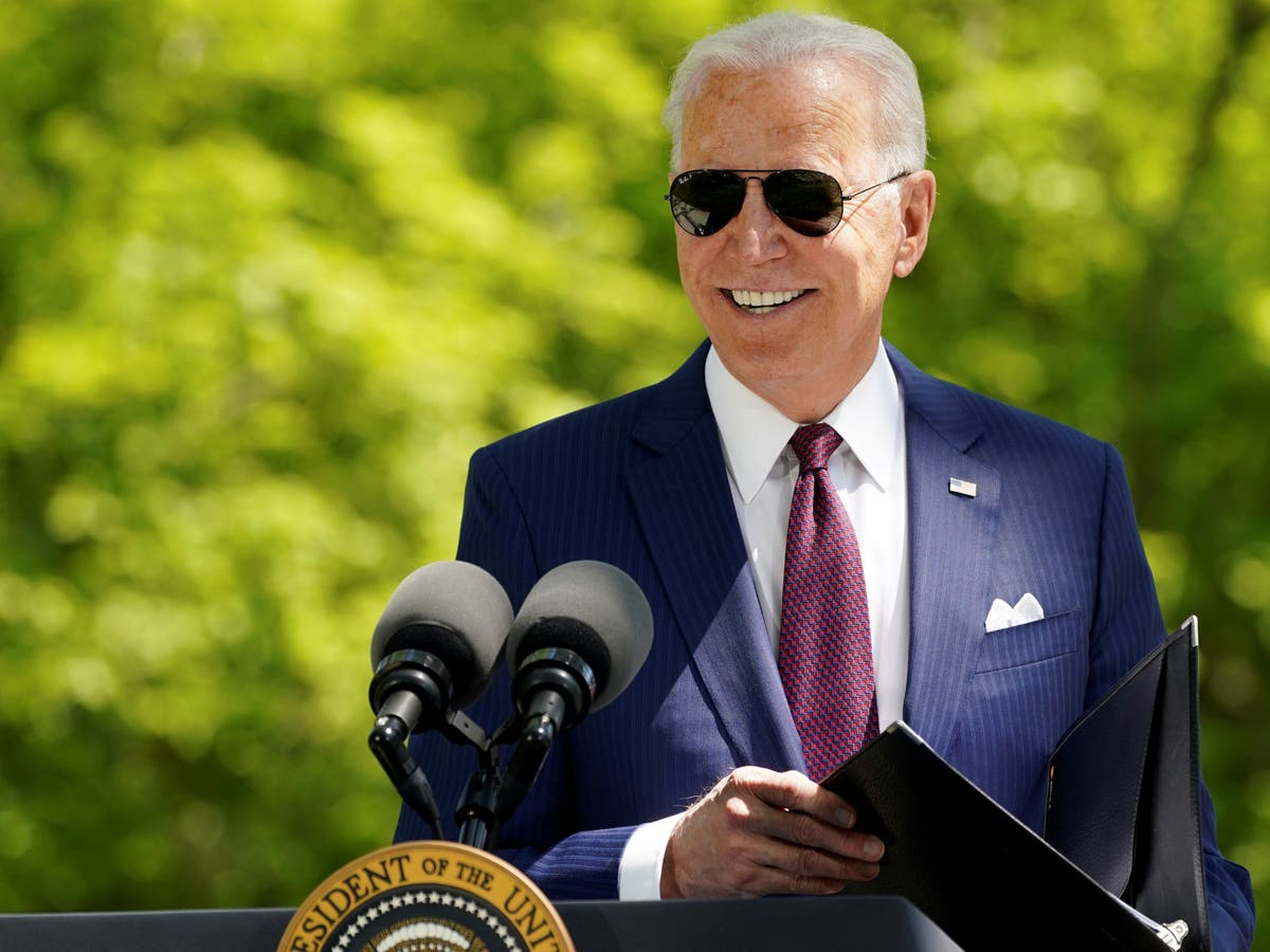 Biden speech today – live: President prepares for joint address to Congress as Trump to appear on Fox