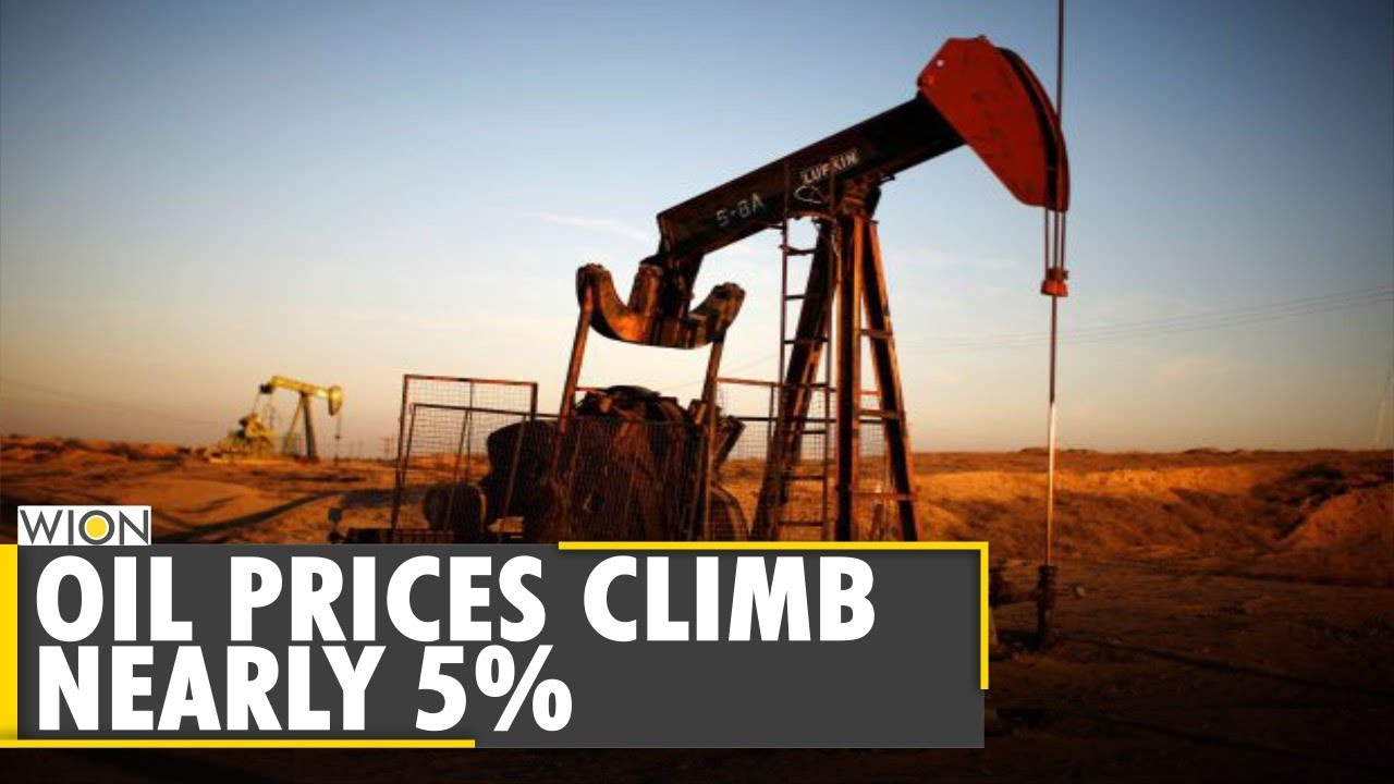 Oil price climbs nearly 5% on signs of increasing crude demand | Business & Economy | English News - WION