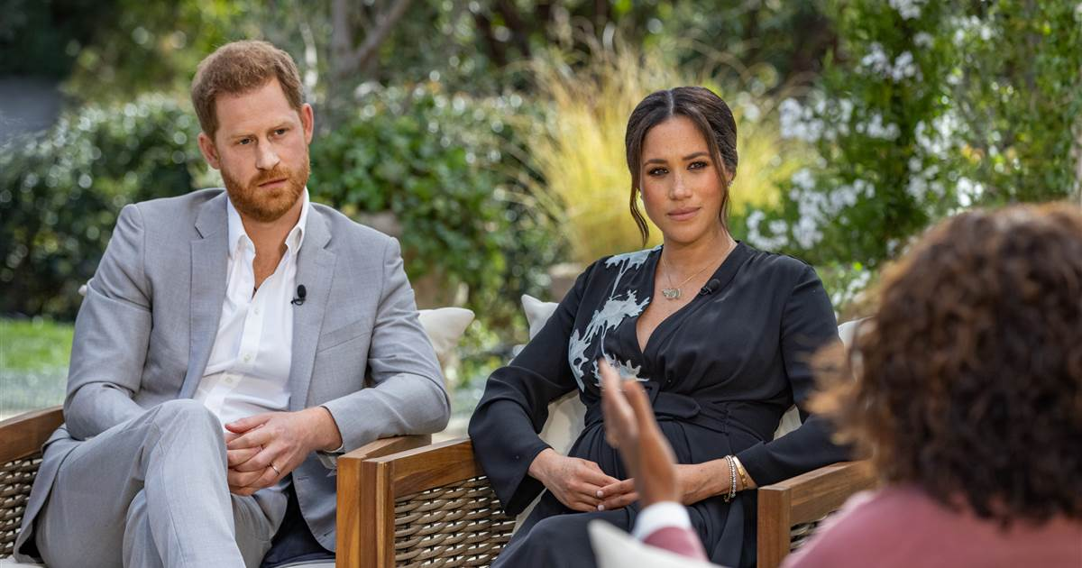 Oprah was 'surprised' at how open Prince Harry and Meghan were