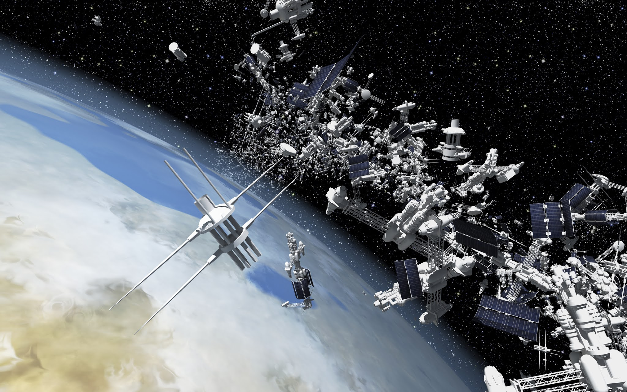 Sea of dead satellites and debris is forming an impenetrable capsule around the Earth / Digital Information World