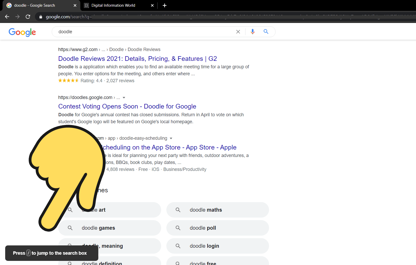 This quick hack make searching easier on Google and it works on YouTube as well / Digital Information World