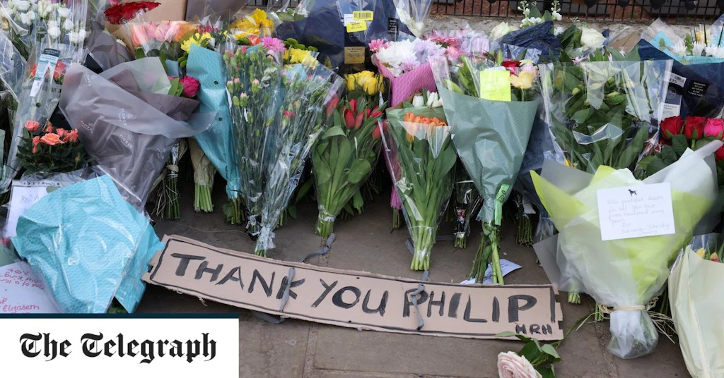 the passing of Prince Philip, told in 17 pictures