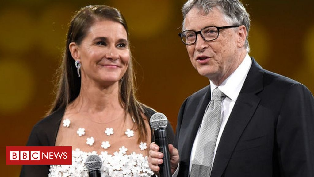Bill and Melinda Gates divorce after 27 years of marriage - BBC News