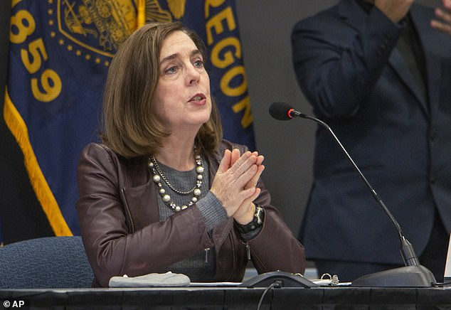 Oregon Gov Kate Brown has blamed the rise in COVID-19 cases and hospitalizations for her decision to reinstate COVID-19 restrictions on 36 counties