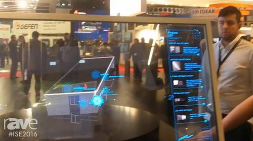 Немска компания показа прозрачен OLED екран