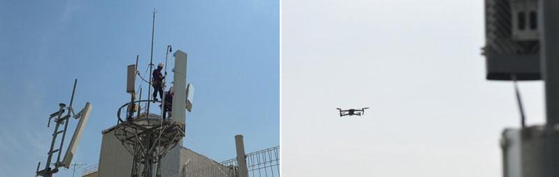 Drone පාදක කරගනිමින් 5G network optimize කිරීම සඳහා AI solution එකක් අත්හදාබැලීමට Samsung සමාගම කටයුතු කරයි