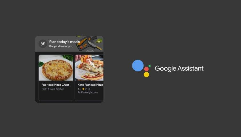 Google Assistant වැඩසටහන හරහා දිනපතා ආහාර වට්ටෝරුවක් පෙන්වීමට කටයුතු කරයි